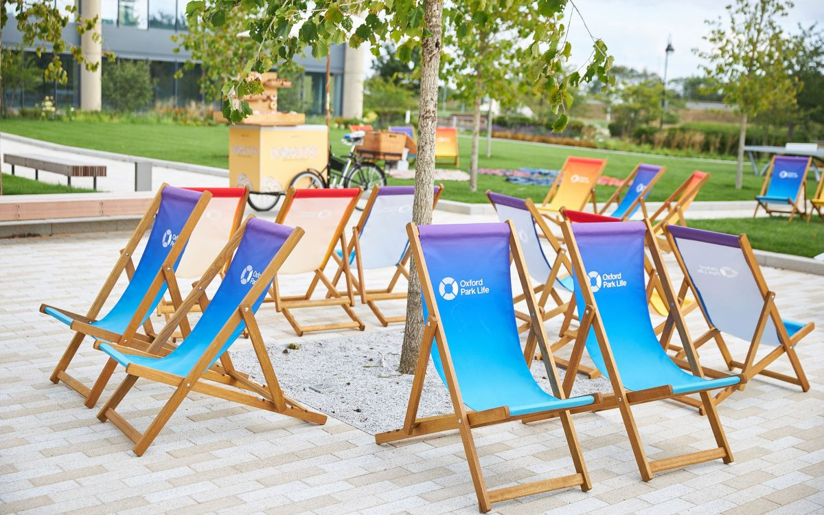 Community Deck Chairs